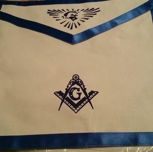 Other - Masonic Apron Blue Lodge Master mason Apron with